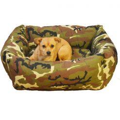 cuna militar perro